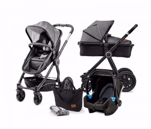 Kindekraft VEO 3w1 Black/Gray